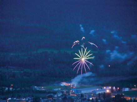 Art Carson fireworks Canada Day