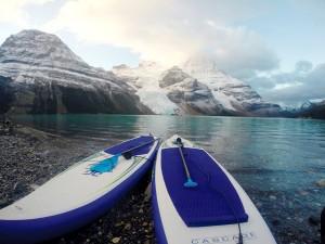 The final morning, Berg Lake
