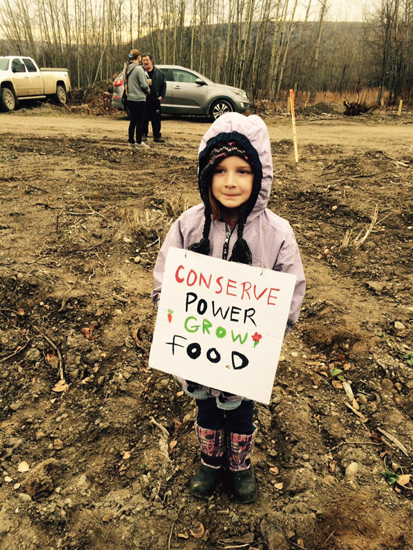 Site C protest oct 2015 peace river (7)