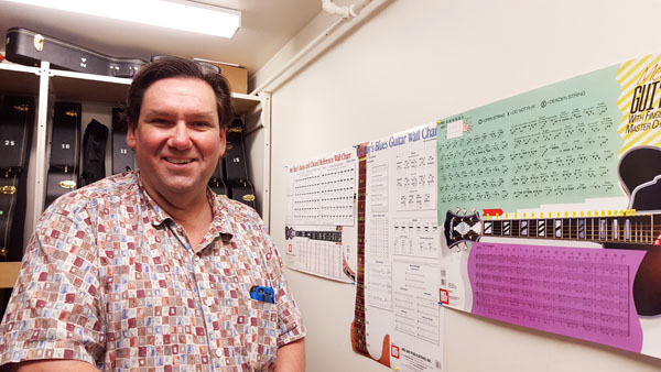 Dan Kenkel wanted to bring more music into the school after the band program shut down.