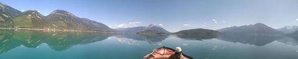 Valemount Kinbasket Lake boating camping adventure (4)