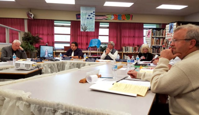 The Board of Education met in McBride last week for their regular meeting, where they considered 14 rural education recommendations. / LAURA KEIL