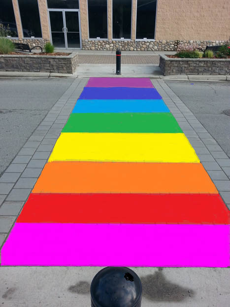 Jasper Council debates rainbow crosswalk