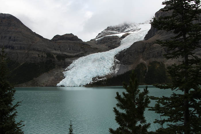 Photo: Dennis Pickerl The Berg Glacier, seen from the trail nearing Marmot campground.