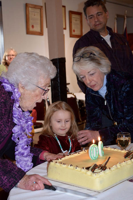 Happy 90th, Louise!