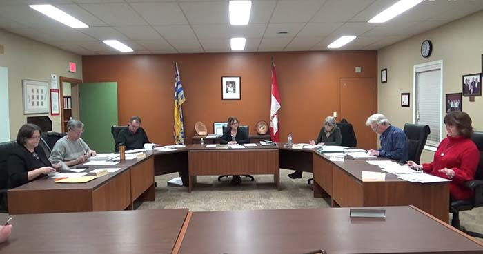 McBride Council: 5-Year Planning, marijuana licensing, new staff training
