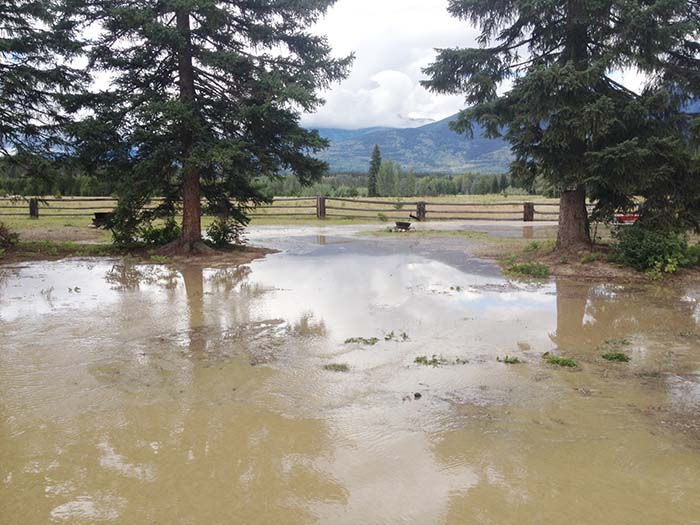 Unseasonable heat means flood and fire concerns