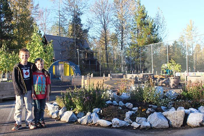 Blue River community garden: Fresh produce, free
