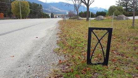 election sign vandalism valemount