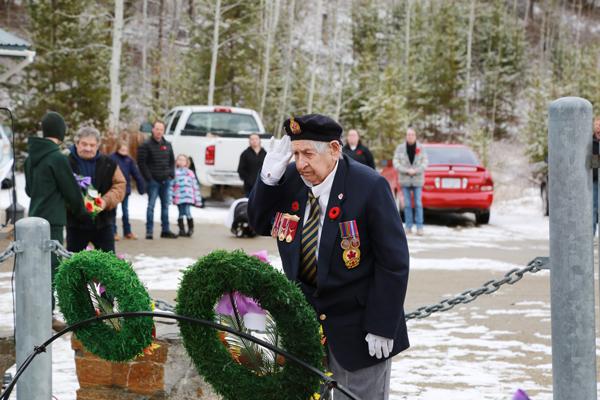 Remembrance Day 2018 in photos: Valemount & McBride