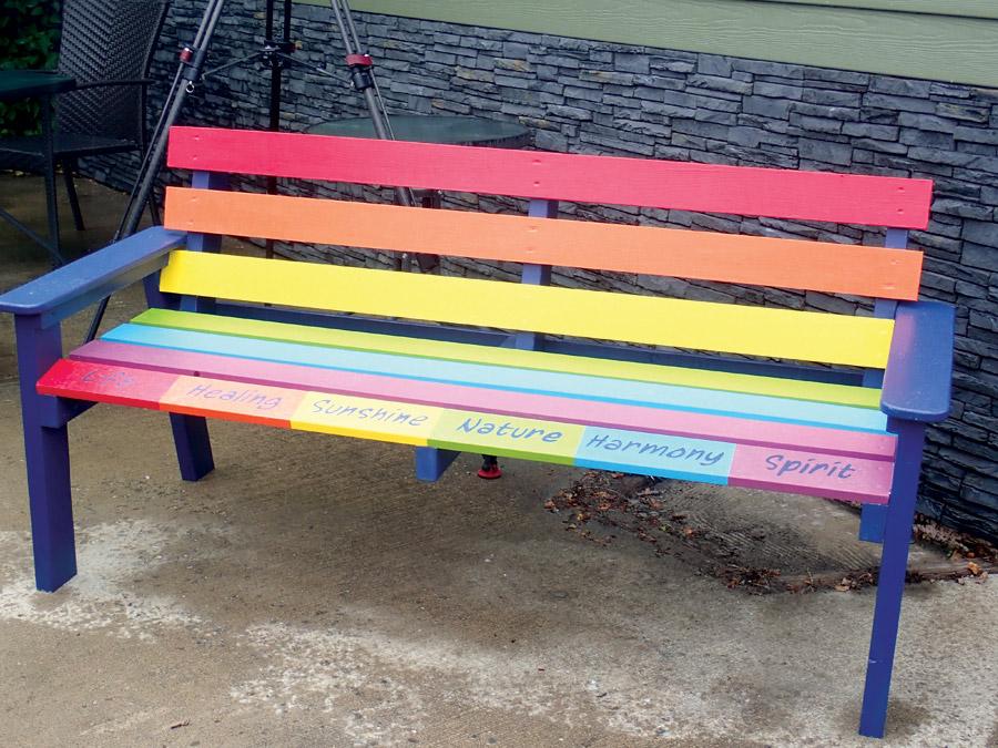 Rainbow-crosswalk-bench-Beth_1