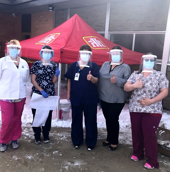 McBride school 3D prints protective gear for hospital workers
