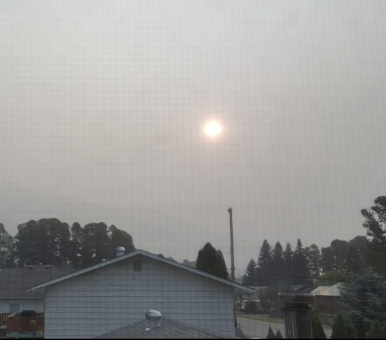 Wildfire smoke in Robson Valley expected to clear, then return
