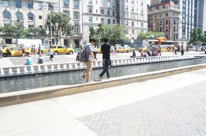 Walking around NYC