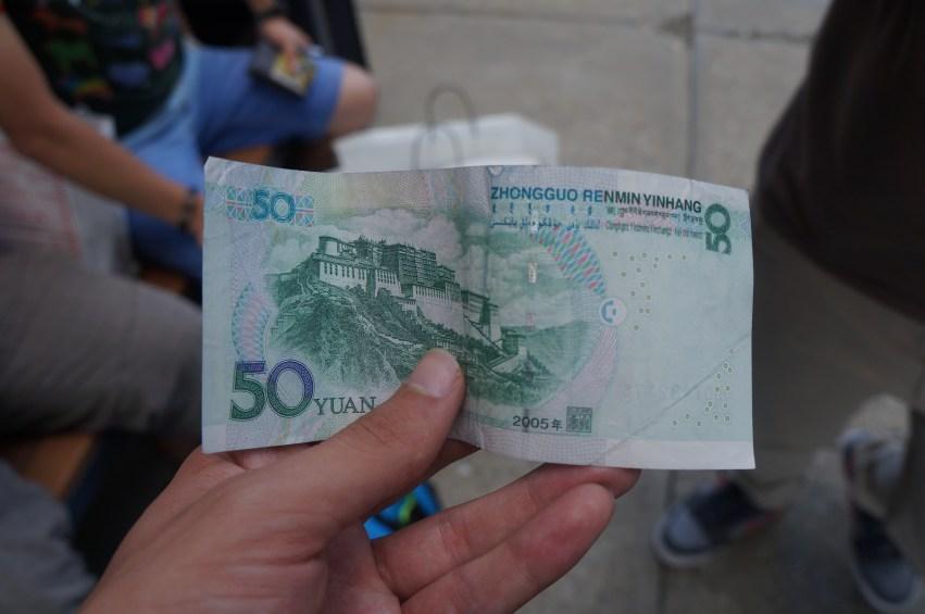 Money from China