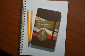 Picked Up a Moleskine Voyageur For My Trip to China