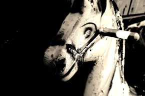 Meet The Haunted Rocking Horse From My Backyard