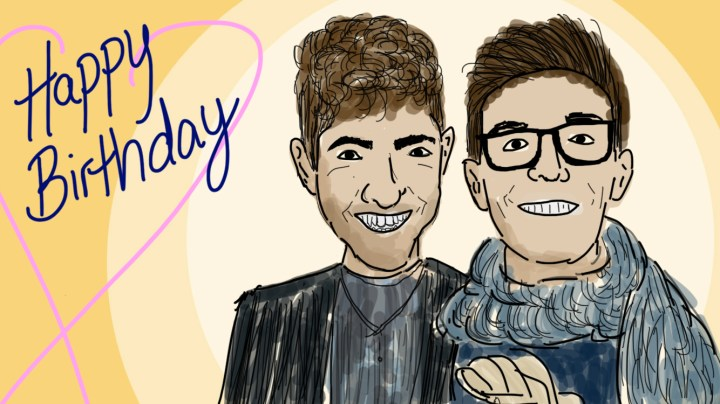 Birthday Doodles Boyfriends