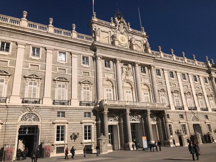 Royal Family Spain Palace