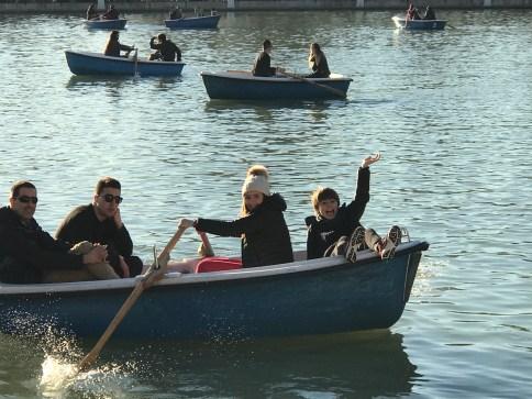 Row Boats at El Retiro