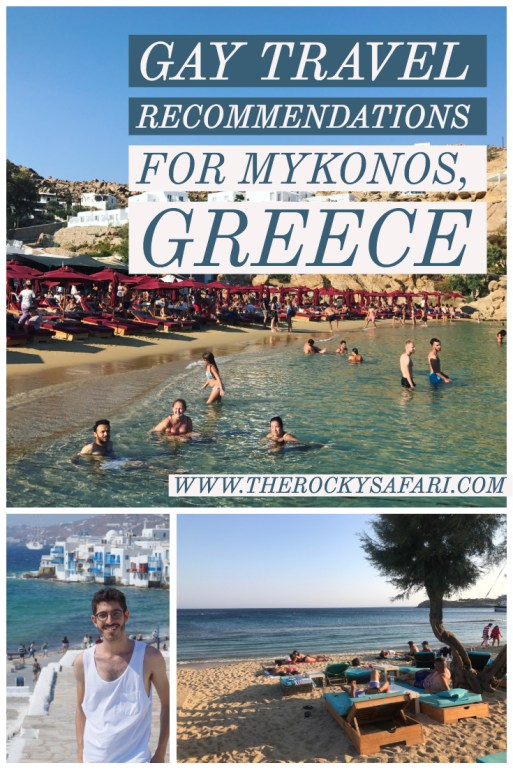Travel Recommendations For Young Gay Men Who Want to Visit Mykonos