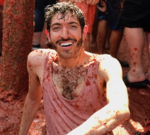 Let's Talk About My Rotten Tomato Juice-Induced Pink Eye Infection At La Tomatina
