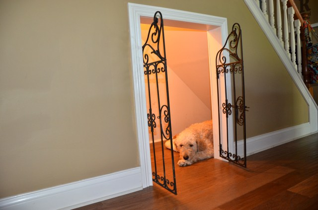Under Staircase Dog Cage