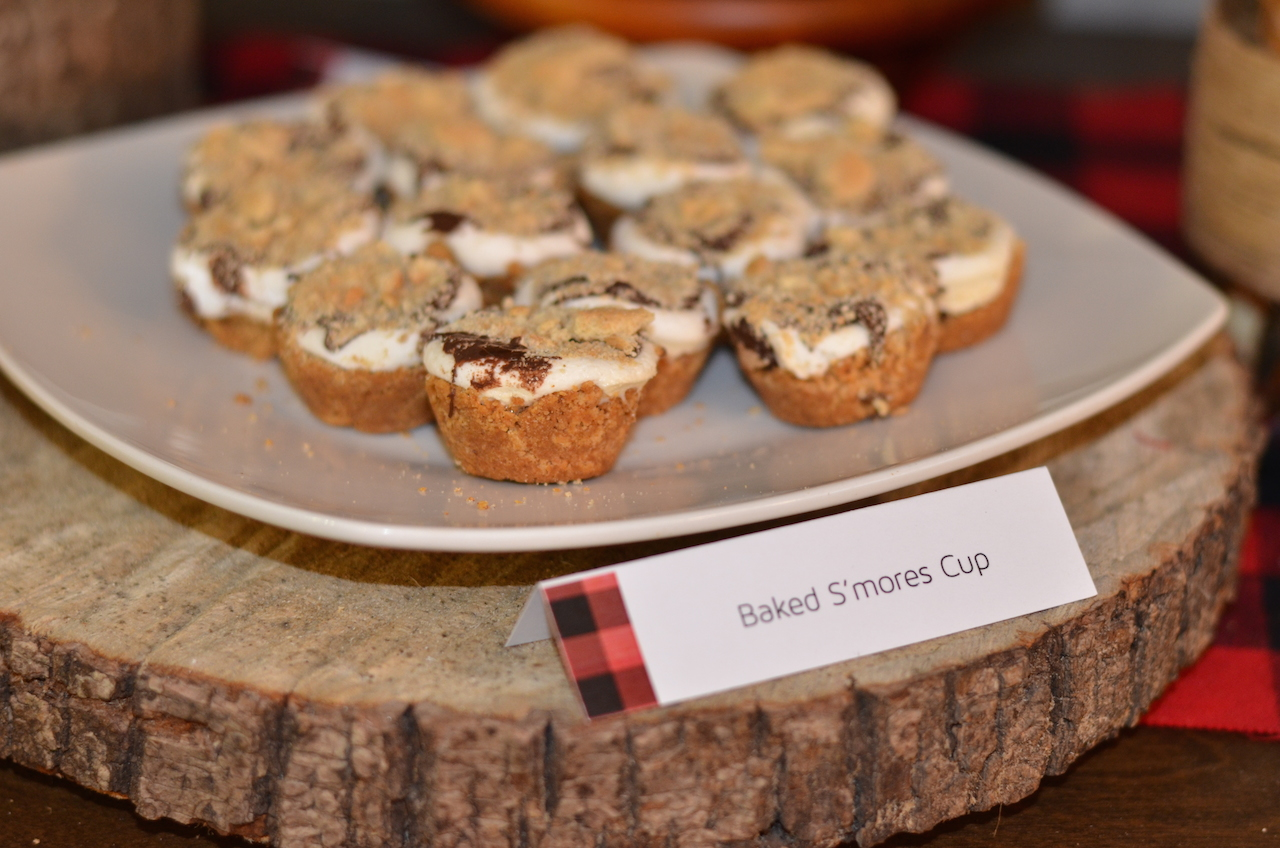 Lumberjack And Woodland Animals Themed First Birthday Party Snacks