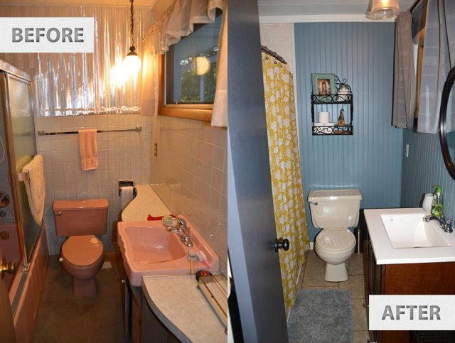 diy-farmhouse -cheap-bathroom-remodel