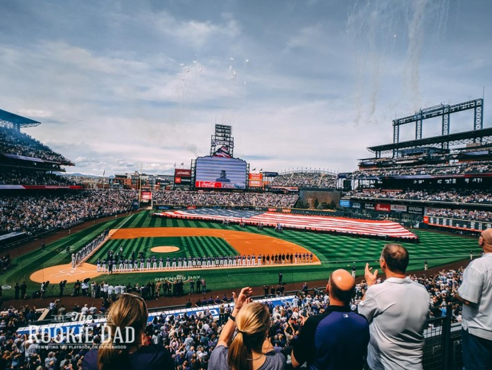 Opening Day Colorado Rockies