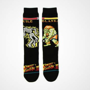 Calcetines Stance Street Fighter Guile Vs Blanka