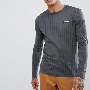 Camiseta  Manga Larga Dickies Doswell Charcoal Grey