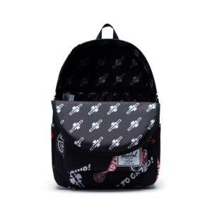 Mochila Herschel x Independent Classic XL Black Multi
