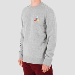 Sudadera Huf  Prism Crew Heather Grey