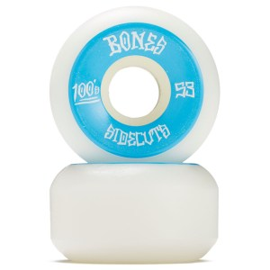 Ruedas Bones 53mm 100´S Sidecuts