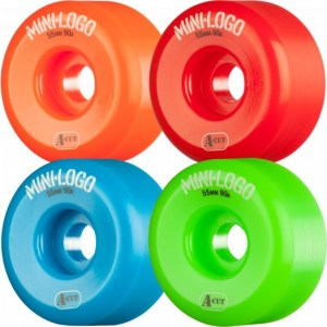 Ruedas Minilogo 54mm A-CUT 101A Assorted