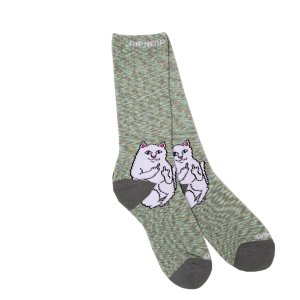 Calcetines RipNDip Lord Nermal Gray Speckle