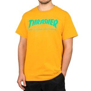 Camiseta Thrasher Skate Mag Gold