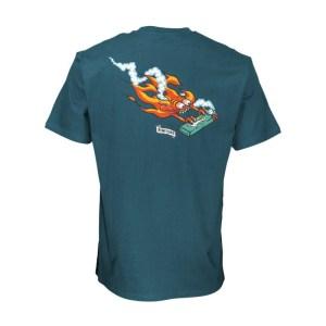 Camiseta Santa Cruz Remillard Lit Petrol Blue