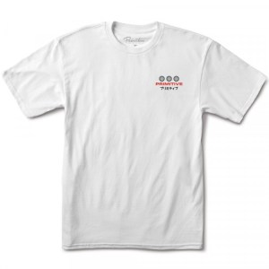 Camiseta Primitive Far East White