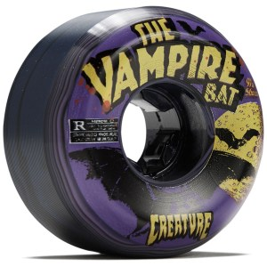 Ruedas OJ´S 56mm Vampire Bloodsuckers 97A Black/Purple