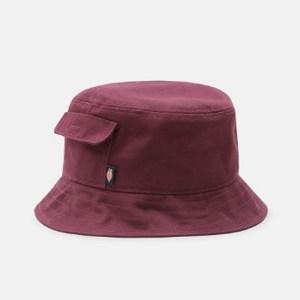 "Gorro Dickies ""pescador"" Bogalusa  Bucket Hat Maroon"