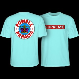 Camiseta Powell Peralta Supreme Powder Blue
