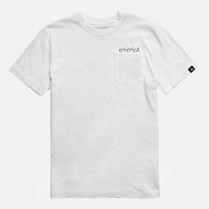 Camiseta Emerica Pink Elephant White