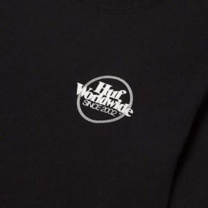 Camiseta Huf Issues Puff Black