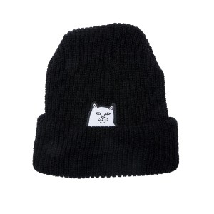 Gorro Rip N Dip Lord Nermal Ribbed Black
