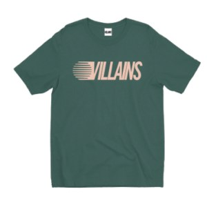 Camiseta Olé x Villains Worldwide Degrade Green