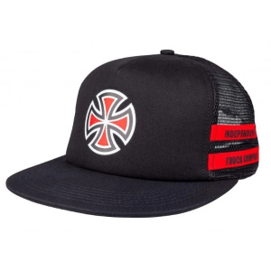 Gorra Independent Shear Mesh Black/Red