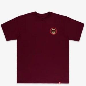 Camiseta Spitfire Classic Swirl Fade Maroon