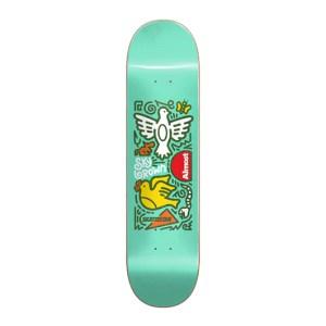 Tabla Almost 7.75″ Skateistan Sky Doodle Mint